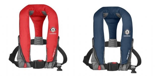Crewsaver CREWFIT SPORT LIFE JACKET 165N MANUAL RED & NAVY BLUE - Grasshopper Leisure
